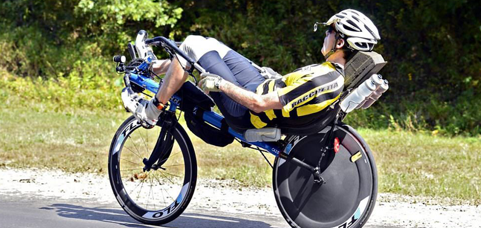 What are the benefits of riding a recumbent bike